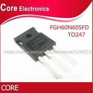 Image 2 - 20 יח\חבילה FGH60N60SFDTU FGH60N60SFD FGH60N60SF FGH60N60 600V 120A 378W כדי 247 IC.