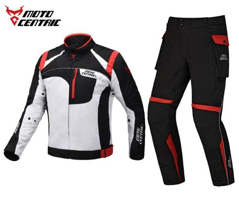 Motocentrique imperméable veste moto pantalon équitation course équipement de Protection Motocross veste moto équipement de Protection