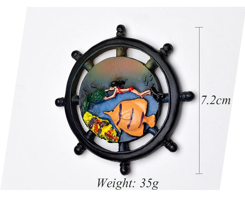 Seascape Ocean Fridge Magnet Souvenir 11