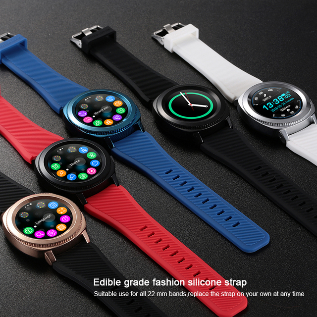 US $44 64 21% OFF|Fitness Tracker Heart Rate smart watch L2 IP68 Waterproof  Bluetooth SmartWatch MTK2502 for Android IOS HUAWEI xiaomi smart phone-in