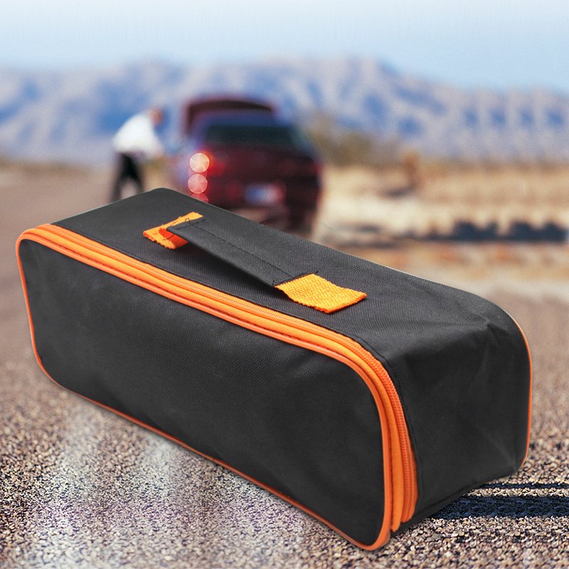 Portable Car Storage Car Vacuum Cleaner Repair Tools Zipper Storage Carry Bag Tote Pouch Car Accessories
