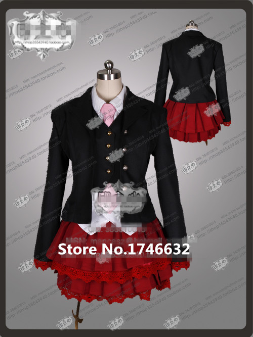 Anime Umineko no Naku koro ni Beatrice Party Fashion Lolita Dress Skirt Uniform Cosplay Costume Any Size NEW plus size light up cosplay party skirt