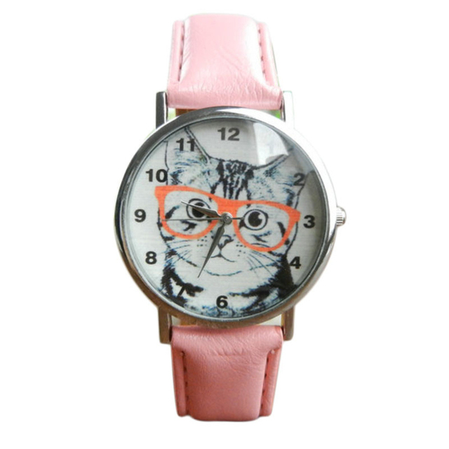 Cat Pattern Watches Womens