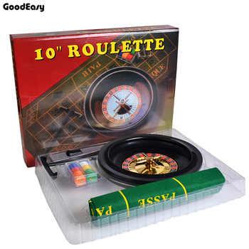 10 zoll Roulette Poker Chips Set 60 stücke Kleine Poker Chips Tisch Tuch Chips Sammeln Rake Spaß Freizeit Borad Roulette spiele