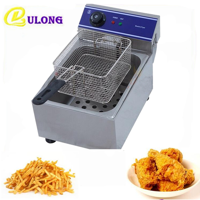 10 L Home Use Electric Deep Fryer Mini  Oil Fat  Frying Grill Fried Chicken Fried Dough Sticks Furnace Fries Machine 2 6l air fryer without large capacity electric frying pan frying pan machine fries chicken wings intelligent deep electric fryer