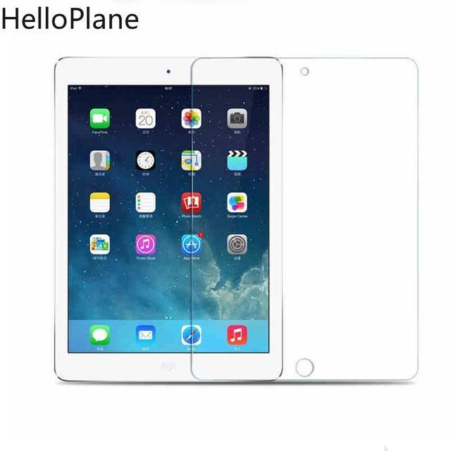 Vidrio templado para Apple iPad 2/3/4/5 Mini 2019 Air1 Air2 Mini3 Mini4 Mini5 7,9 9,7 de 10,5 Protector de pantalla Tablet guardia de película