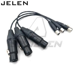 Image 2 - Ta3f 3pin female naar XLR 3pin vrouwelijke voor Geluid Apparaten 688/788, geluid Apparaten XL2 TA3 F naar XLR Kabel Adapter Kabel