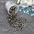 100pcs Scrapbook Eyelet Silver White Golden color Metal eyelets DIY embelishment garment clothes eyelets or eyelets punch tools