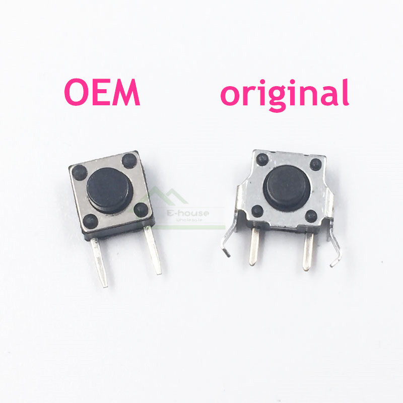 [20PC/ LOT] High Quality L/ R Left Right Micro Switch Button Replacement For GameBoy Advance GBA for GBA SP Game Console