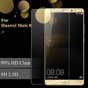 Image 2 - 2 pièces verre Huawei Mate 8 protecteur décran verre trempé pour Huawei Mate 8 verre mate8 Film trempé anti rayures WolfRule [