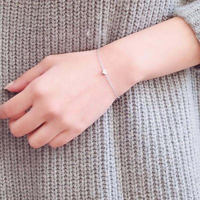 FLTMRH   Multi Bangle Slave Chain Link Interweave Finger Rings Hand Harness Bracelets Gold 7