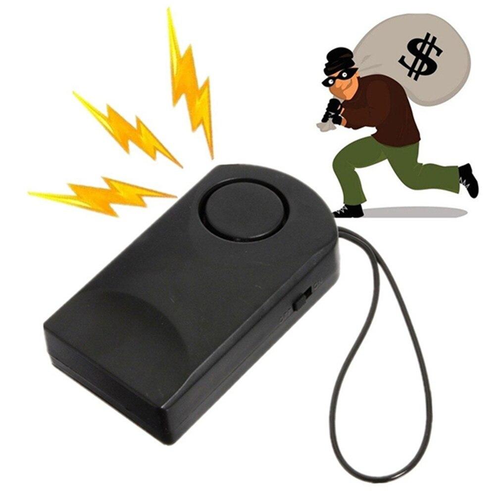 Portable Door Sensor Alarm Door Handle Alarm Touch Alarm 120dB Anti-theft Door Security Siren Hotel Safety Door Stop Alarm
