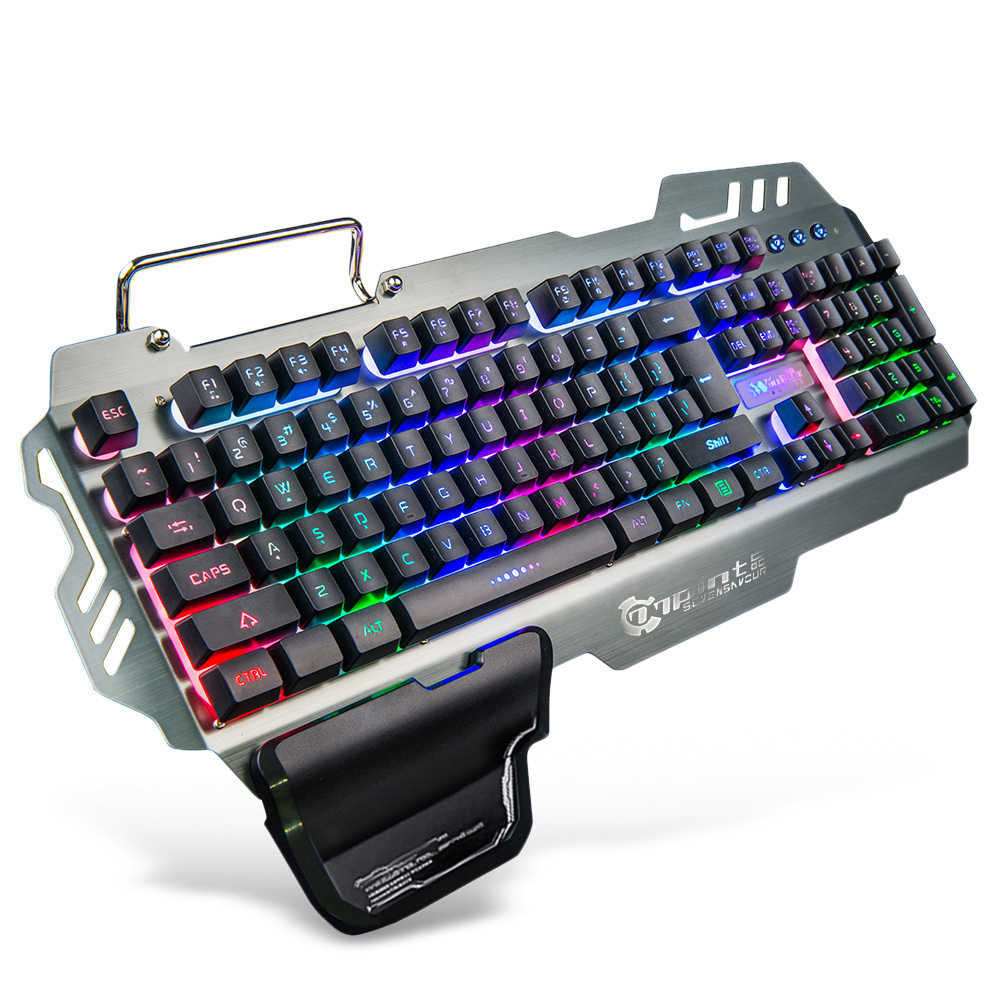 7pin Pk 900 Pk900 104 Keys Membrane Gaming Keyboard With Colorful Backlight Support Mac Os Linux Windows For Pc Desktop Aliexpress