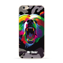 TPU Case with Wild Animals for Apple Iphone 7