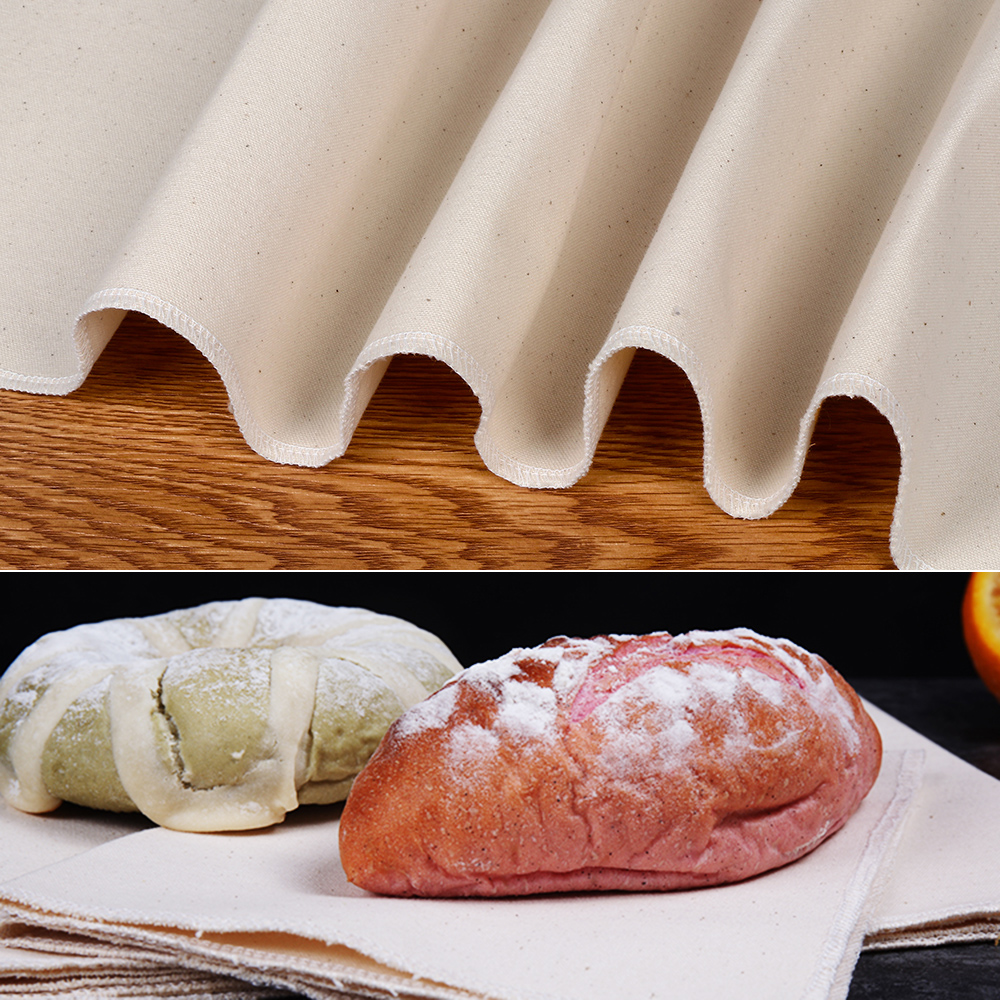 2019NEW 1PC Bread Fermented Linen Flax Cloth Dough Bakers Baguette Mat Pastry kitchen Baking