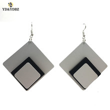 YD&YDBZ 2019 New Earrings For Women Fashion Gothic Handmade Big A Pair Gifts Birthday Girl Drop Earring Party Jewellery