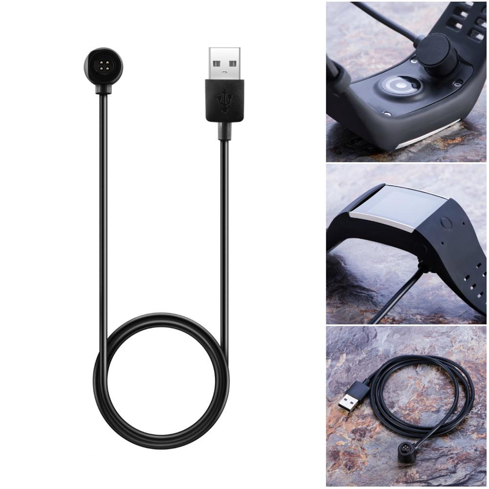 1M/3FT USB Fast Charging Data Charger Charging Cable with Data function for POLAR M600 Smart Watch for Travelers/Business users practical 1m magnetic charging smart led luminous cable