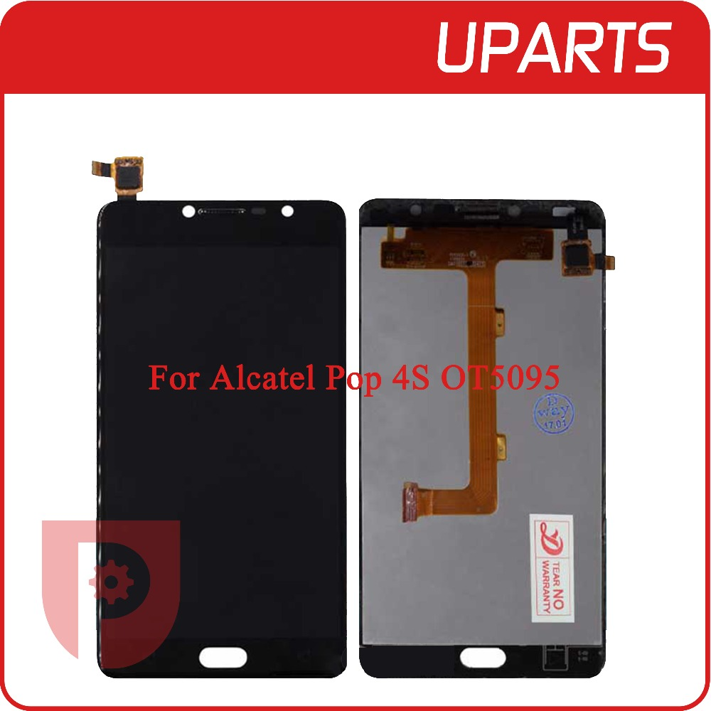 A+++ 5.5 For Alcatel One Pop 4S 5095 OT5095 5095B 5095I 5095K LCD Display Touch Screen Glass Digitizer Assembly Replacement