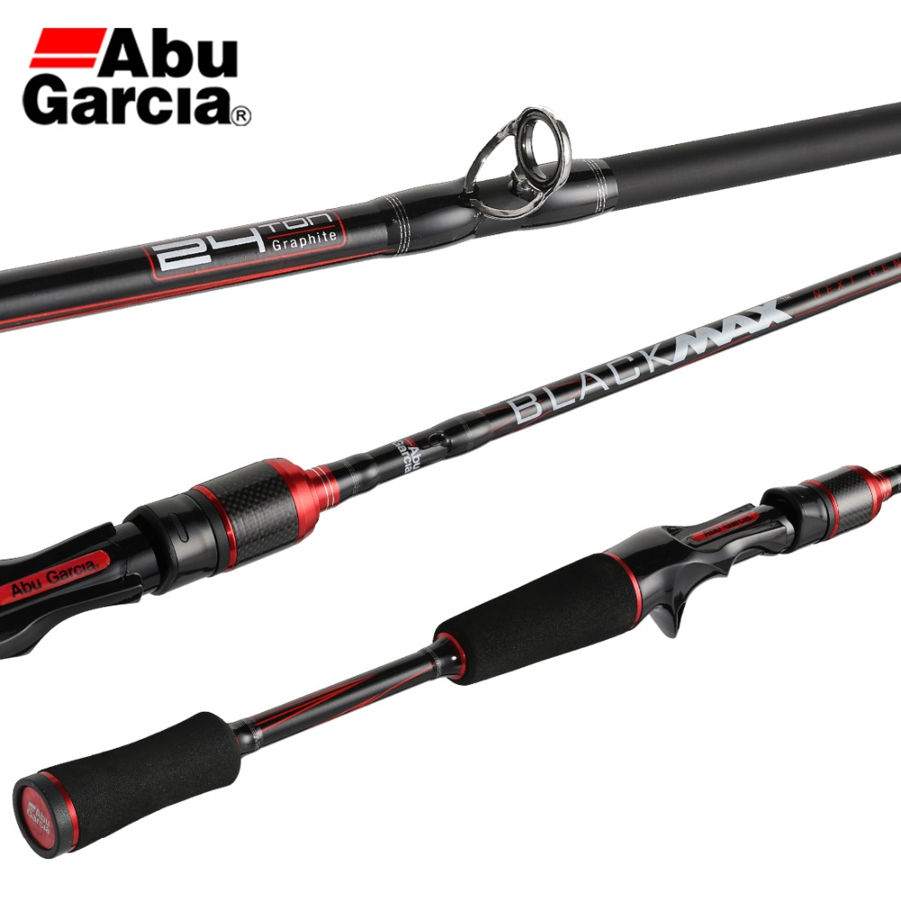 19 Abu Garcia BLACK MAX BMAX II Lure Fishing Rod RF Power Carbon Fiber Fishing Tackle