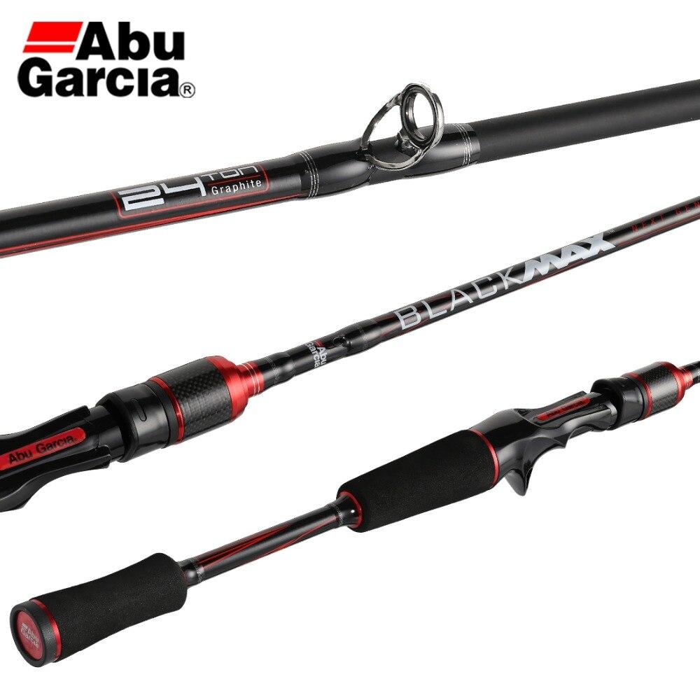 19 abu garcia preto max bmax ii isca vara de pesca rf potência fiação fundição haste 2.13 2.28 2.43 m fibra carbono carpa pesca enfrentar