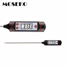 MOSEKO Electronic BBQ Thermometer Probe Kitchen Oven Cooking Food Meat Water Oil Household  Digital Thermometer  TP3001