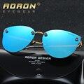 Aoron marca original mujeres gafas de sol polarizadas de conducción espejo lentes de colores gafas de sol accesorios gafas a382