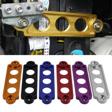 Drop Shipping Car Battery Tie Down Hold Bracket Lock Anodized billet Aluminum for Civic S2000 Integ Honda CRX Car Accessory(China)