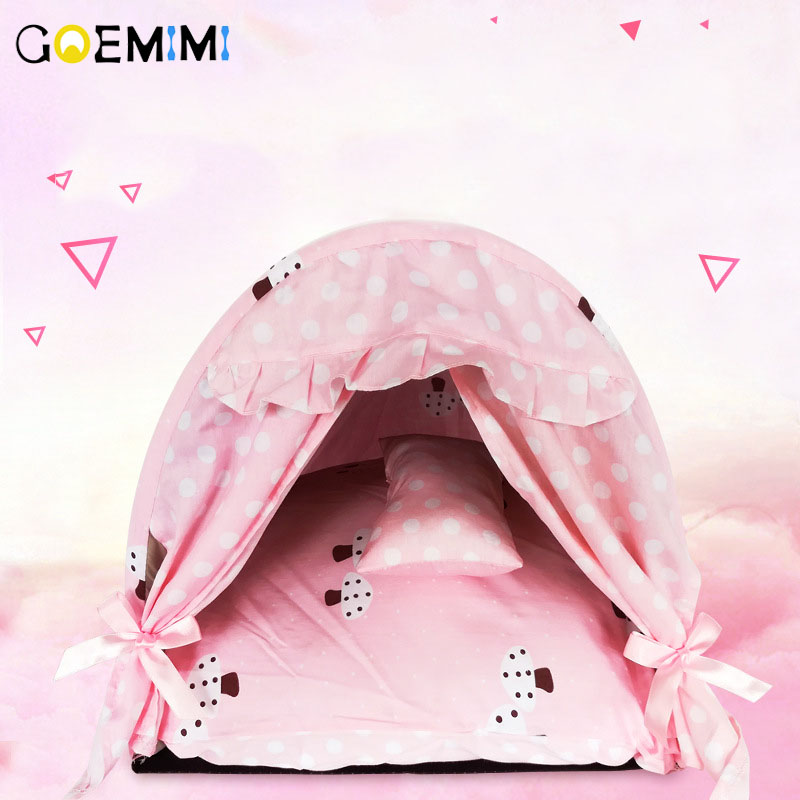 2019 Dog House Nest With Mat Lovely Puppy Bed With Pillow Cat Bed House For Small Medium Dogs Top Quality Puppy House2019 Dog House Nest With Mat Lovely Puppy Bed With Pillow Cat Bed House For Small Medium Dogs Top Quality Puppy House