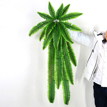 Fashion Wall-mounted Plant Artificial Green Plant Grass DIY Plant Wall Accessories Decoration Home Garden Decoration