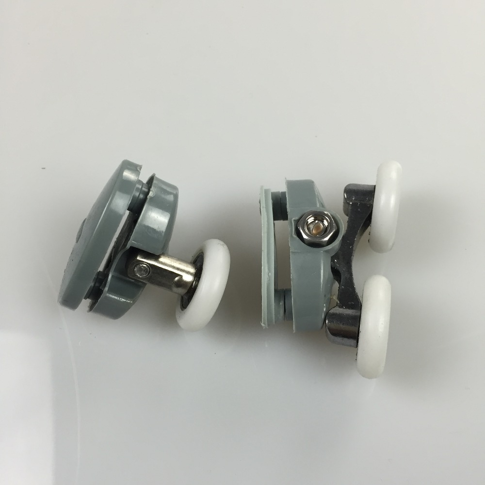 8 Pcs Single Double Roller Wheel For Shower Door Top Bottom in Bath Hardware Sets from Home Improvement