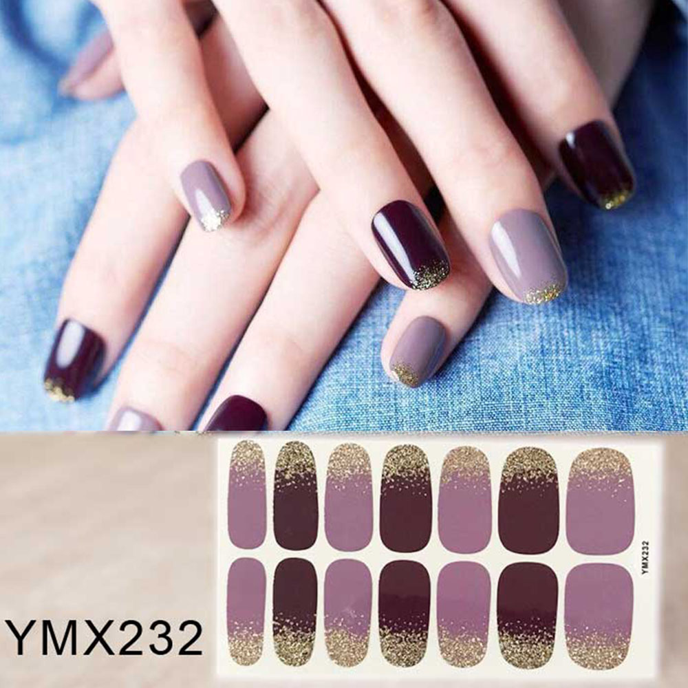 Beauty Applique Nail Sticker Artificial Watermark Persistence Lasting Accessories Women Nail Decoration Tools YMX232