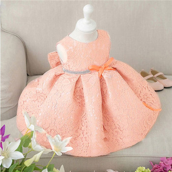 Beautiful Baby Girl Dresses with Cap Super Back Bow