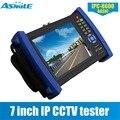 Портативный CCTV ЖК-дисплей монитор Тесты er 7 дюймов Onvif IP Камера изображения Тесты Мобильный клиент видео HDMI Выход WI-FI ipc-8600