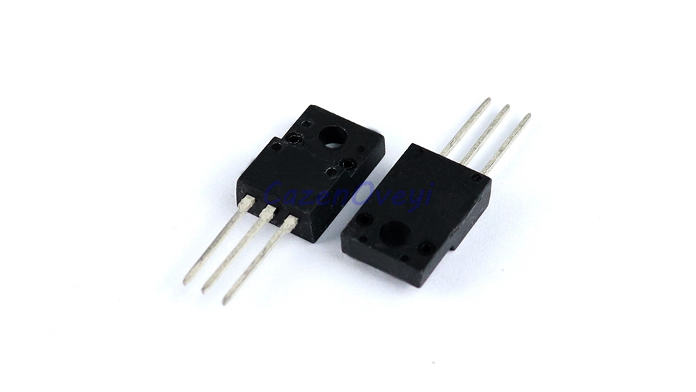10pcs/lot FQPF6N80C TO-220 <font><b>6N80C</b></font> 6N80 TO220 FQPF6N80 TO-220F new MOS FET transistor In Stock image