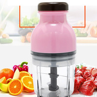 YONTREE 1PC Eco Friendly Stainless Steel Electric Meat Grinder Multifunctional Fruit Juicer Food Mixer