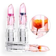 Hot Makeup Lipstick Moisturizer Transparent Magic Temperature Flower Color Changing Long Lasting Lipstick Lip Kit