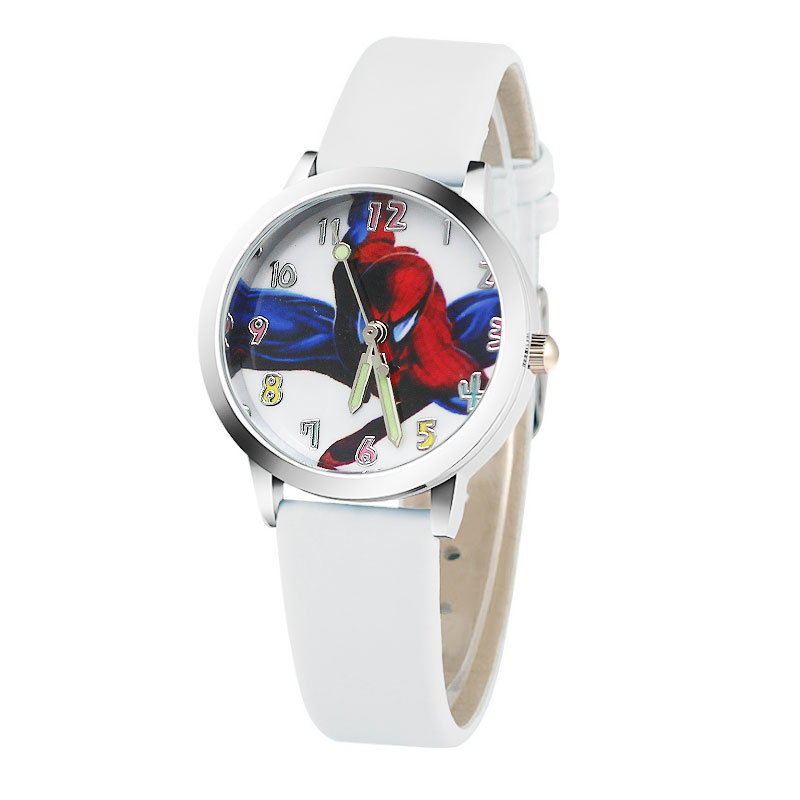 Hot koop cartoon spiderman horloge kinderen horloges Lederen - Kinderhorloges - Foto 3