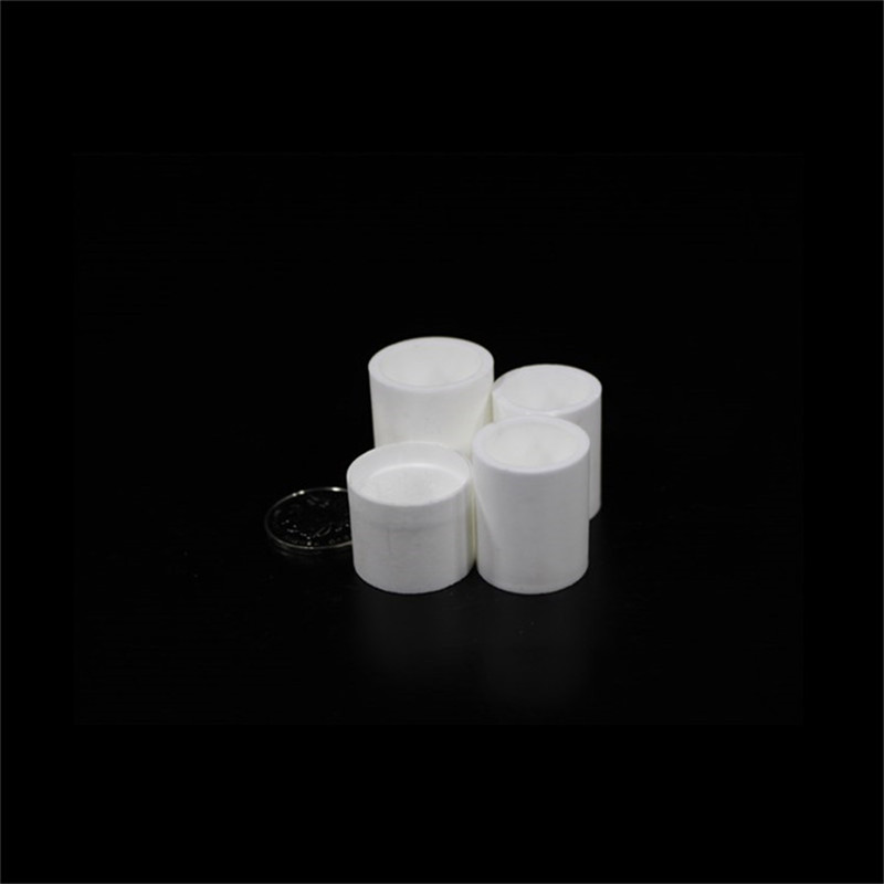 99.3% Alumina Crucible With Lids / 3ml / Cylindrical Corundum Crucible / Ceramic Crucible