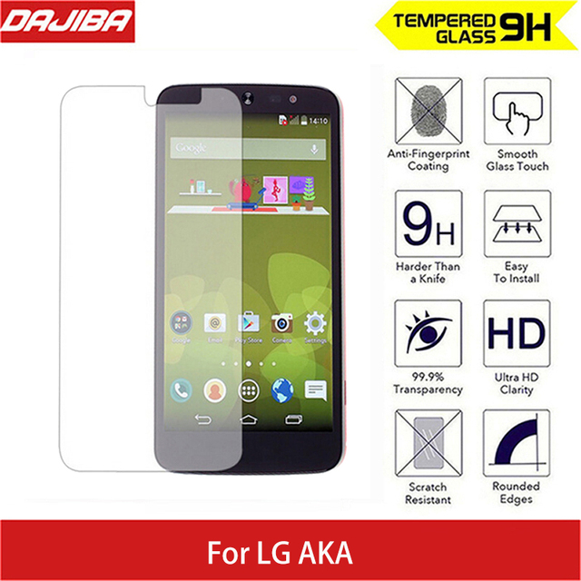 Tempered Screen Glass Scratch Proof For LG AKA 9H Hard 25D Arc Edge Round Border