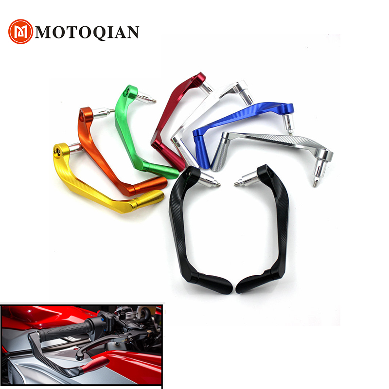Aluminum Motorcycle Handlebar Brake Clutch Levers Protector Guard for Yamaha R3 R25 YZF R1 YZF R6 Handle Bar moto parts bike printio sheriff