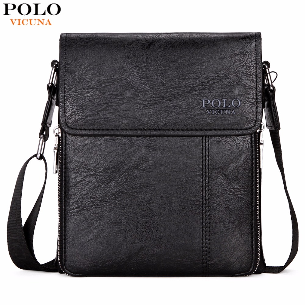 VICUNA POLO Brand Business Men Shoulder Bag Promotion Casual Brand Man bag Leather Messenger Bags Crossbody Sling Bag Hot Sell vicuna polo new arrival brand business men s shoulder bag square design casual men bag promotion leisure messenger bag top sell