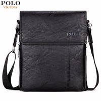 VICUNA POLO Brand Business Men Shoulder Bag Promotion Casual Brand Man Bag Leather Messenger Bags Crossbody