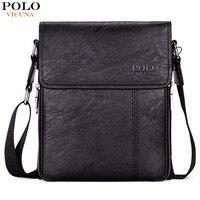VICUNA POLO Brand Business Men Shoulder Bag Promotion Casual Brand Man Bag Leather Messenger Bags Crossbody