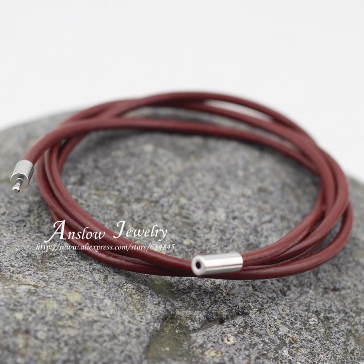 LOW0051LB модные ювелирные изделия оптом стиль женский браслет женские кожаные браслеты из Поттера аксессуары - Окраска металла: wine red