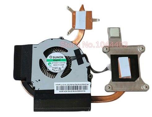 Вентилятор и радиатор для ноутбука Lenovo Thinkpad E431 E440 E531 E540 Series 04Y1366 00JT207 для дискретного графического ноутбука