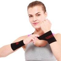 Aolikes 1 Paar Sport Handgelenk Band Handgelenk Unterstützung Klammer Schweißband Schutz Sport Tennis Squash Badminton GYM Hand Armband Protector-in Handgelenkstütze aus Sport und Unterhaltung bei