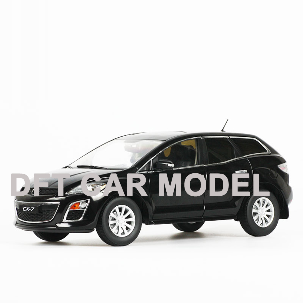 diecast 1:18 CX-7 SUV Alloy Toy Car Model of Children's Toy Cars Original Authorized Authentic Kids Toys Gift Free Shipping