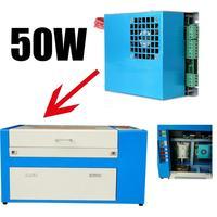 50W Power Supply for CO2 Laser Tube Engraver Cutter 220V DE shipping