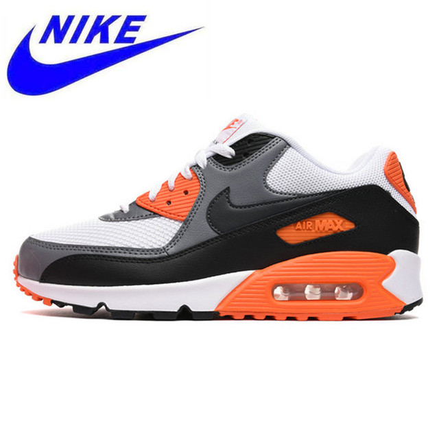 458f072cc4b9 NIKE AIR MAX 90 Men s ESSENTIAL Running Shoes Original Authentic Sport  Outdoor Sneakers Athletic Tennis Designer