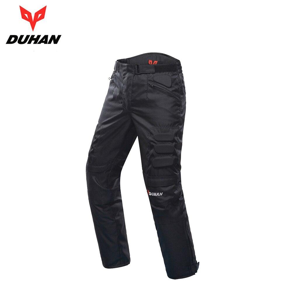 DUHAN Motocross Pantalon Moto Pantalon coupe-vent Moto Pantalon Moto Pantalon équipement de protection équitation Pantalon pour hommes